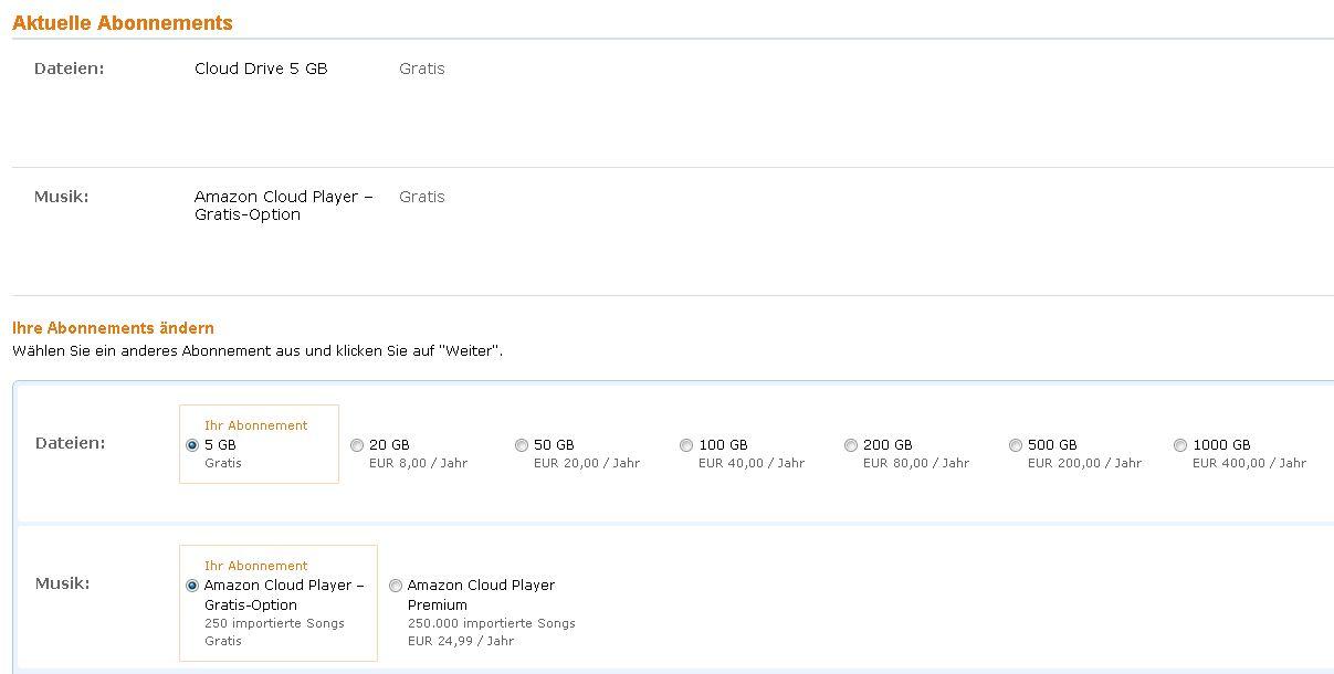 Angriff Auf ITunes Match: Amazon Startet Cloud-Mp3-Player